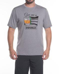 On The Rocks Heather Grey T-Shirt | TravisMathew Men's Apparel
