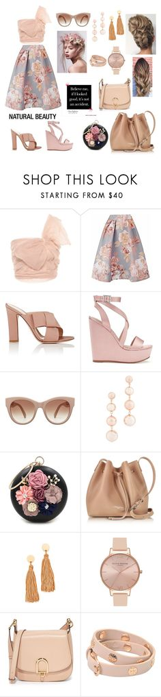 """""""Gravity..."""" by indstargazer0804 ❤ liked on Polyvore featuring RED Valentino, Gianvito Rossi, Miss Selfridge, Rebecca Minkoff, WithChic, Lancaster, Shashi, Olivia Burton, MICHAEL Michael Kors and Tory Burch"""