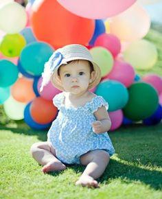 Baby bubble suit!