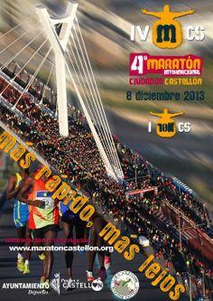 """Preparad@ para el #Maratón de #Castellón? Este domingo, 8 diciembre, tanto si participas como si eres espectador disfruta de esta gran fiesta deportiva. Desde #CastellónMediterráneo os deseamos buena suerte a tod@s!!! Info del """"4º Maratón Internacional Ciudad de Castellón"""" en: http://www.maratoncastellon.org/"""