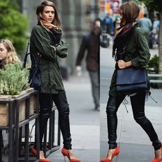 """Fashion▫Models▫Trends on Instagram: """" #JessicaAlba #Spotted"""""""