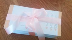 Wedding Invitations - wrapped in ribbon to deliver to the Bride
