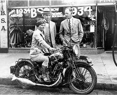 womenwhoride:  1934 BSA Sloper