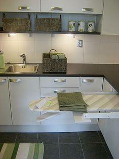 Toimiva kodinhoitohuone Laundry Room, Kitchen Cabinets, Interior Design, Living Room, Bathroom, Houses, Home Decor, Ideas, Nest Design