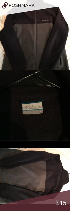 Men's Large Columbia Fleece Jacket Men's Columbia fleece jacket two-tone. Excellent condition, only been worn a handful of times. Large. Columbia Jackets & Coats Performance Jackets
