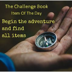 Complete all challenges and collect all items with The Challenge Book. #challenge #adventure #collection #collectibles