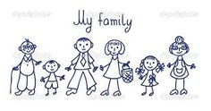 Similar Images, Stock Photos & Vectors of happy family going on holiday by car, black and white coloring - 74497747 Drawing Pictures For Kids, Clip Art Pictures, Drawing For Kids, Funny Pictures, Family Portrait Drawing, Family Drawing, Portraits For Kids, Family Portraits, Smart Class