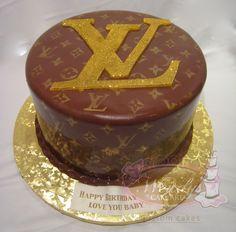 amazeee Louis Vuitton Cake, Cake Art, Eat, Birthday, Pretty, Desserts, Instagram, Food, Pies