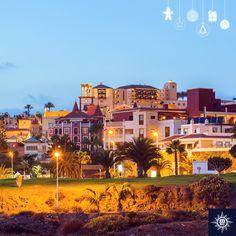 Tenerife looks stunning with its December lights glowing at dawn. #MSCFantasia  Tenerife izgleda čarobno obasjan svjetlima u samu zoru.