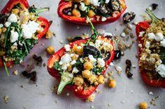 Greek Stuffed Peppers via Edible Perspective