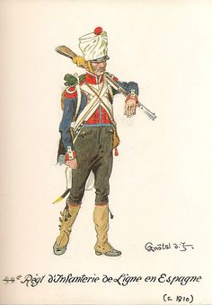 French; 44th Line Infantry in Spain, c.1810