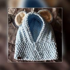Cagoule doudou Artisan, Crochet Hats, Accessories, Fashion, Knitting Hats, Moda, Fashion Styles, Fasion, Craftsman