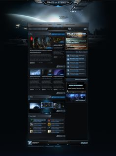 Space of Steresia Web Template on Behance