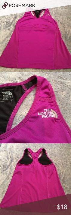 👟The North Face👟 The North Face Sports Bra Top. Size medium. Purple/Pinkish color. Mint condition. ❗️No Trades❗️Proceeds go towards feeding the homeless❗️ The North Face Tops Tank Tops