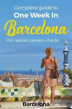 Welcome to One Week In Barcelona! Excited? You should be, there's a lot to explore. We are keen to share here our best insider tips to spend One Week In Barcelona. We introduce you to the different neighborhoods, unique experiences, and restaurants and coffee shops to enjoy your day.