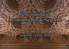 TV ALTO PALANCIA - Pleno ordinario Segorbe1-6-2016 - tribuna segorbina