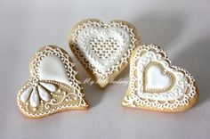 Valentine's Day - Wedding cookie By Agathy on CakeCentral.com