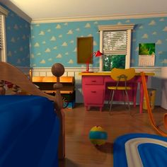if i ever have a son his room will look like andy s on toy story