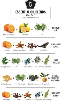 Fantastic Fall Scents to Make Your Home Smell Good (That Aren't Candles!) | Candles can get expensive, and there can be a somewhat disturbing synthetic aroma that lingers in the air long after the it's been blown out. Essential oil blends are a perfect way to add nontoxic scent to your space.