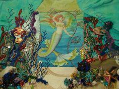 Under water crazy quilt