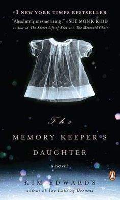 The Memory Keeper's daughter by Kim Edwards.  Keeping a secret is never good and one about a twin baby given up for adoption because she was born with Down's syndrome is a horrible one. What led a physician to give his daugher up for adoption and keep it a secret from his wife and son?....well you should read this book to find out. I really enjoyed this book :)