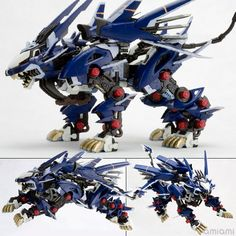 AmiAmi [Character & Hobby Shop] | ZOIDS HMM Series 1/72 RZ-041 Liger Zero Jager Plastic Kit(Released)
