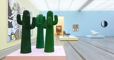 The Cactus designed in 1972 by Guido Drocco and Franco Mello, an icon of the Italian radical design of the Seventies, acquires two new colors, Another Green and Another White. Winged Victory Of Samothrace, Pop Art, Icona Pop, Vitra Design Museum, Renaissance Artists, Design Movements, Virtual Museum, Moma, Barneys New York