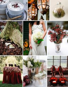 With almost another foot of snow here in Connecticut I wanted to show off a fun winter wedding inspiration board. This board does not offer your traditional winter images like snow, glitter and all white details but I thought the warm coco, reds and greens made for perfect winter warm event. Have something you would …