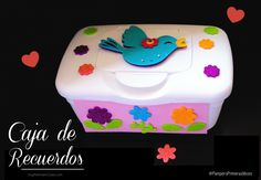 Cómo  hacer cajas de recuerdos #diy #manualidades #PampersPrimerasVeces #Ad