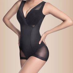 Nueva Seamless caliente de todo el cuerpo Shaperwear para mujer de Nylon de la talladora del cuerpo que adelgaza forma la ropa interior
