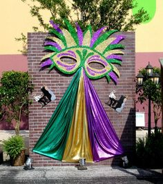 mardi gras bar sign decor yahoo image search results - Mardi Gras Decorations