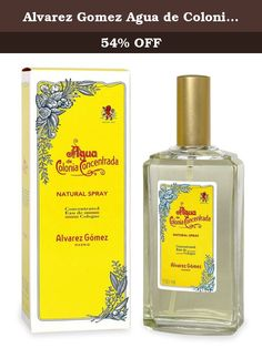 33a2916697 Alvarez Gomez Agua de Colonia Concentrated Eau de Cologne Spray, 5.0 Ounce.  Aqua De Colonia Concentrate By Alvarez Gomez Concentrated Edc Spray 5.0 Oz,  ...