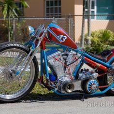 Warren Lane's Bike Badass Motorcycle Helmets, Motorcycle Paint Jobs, Futuristic Motorcycle, Bobber Motorcycle, Girl Motorcycle, Motorcycle Quotes, Custom Bobber, Custom Choppers, Custom Bikes