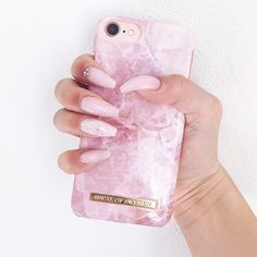 Pilion Pink Marble by @mikkirosenlind - Fashion case phone cases iphone inspiration iDeal of Sweden #pink #marmor #gold #fashion #inspo #iphone #rosa