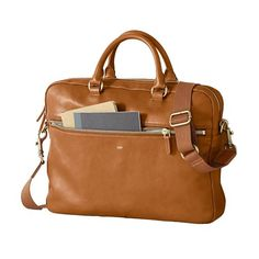 Graham Briefcase, Camel