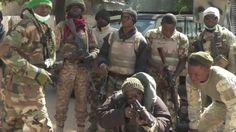Boko Haram battle: On combat patrol with Nigeria's army - BBC News