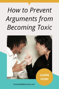 Every couple argues but when conflicts become toxic, the relationship begins to feel unsafe. These conversations aren't just a typical fight. They're filled with hurtful, below the belt jabs that don't get repaired. Eventually, no one feels secure and the relationship could soon be in jeopardy. Learn how to resolve these arugments and strenthen communication. #arguments #communication #relationships #marriage Relationship Problems, Relationship Tips, Relationships, Improve Communication, Effective Communication, Anger Management Quotes, How To Control Anger, Coping With Stress, Improve Mental Health
