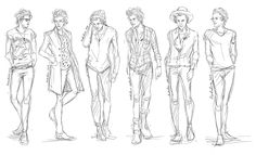 Harry sketches. These are insanely good.