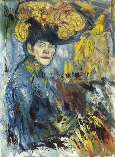 Pablo Picasso. Femme dans la loge / [verso : Buveuse d'absinthe], 1901. Öl auf Leinwand, 81 x 60 cm. Stiftung Im Obersteg, Depositum im Kunstmuseum Basel, Inv. Im 1412.