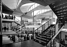 Yugoslav Pavillon by Vjenceslav Richter at World Exposition (Expo 58), held in Brussels in 1958.