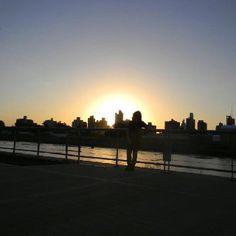 Por do sol - Santa Fé - Argentina