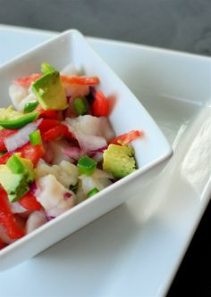 ceviche: 1 lb. whitefish (like tilapia, swai, sea bass or red snapper ...