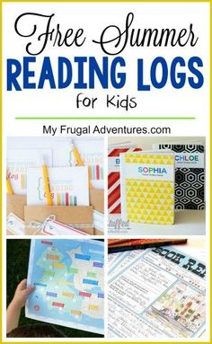 Free Summer Reading Log Printables and Activities Several free printable reading logs to keep the kids on track and motivated this summer. Several creative ideas to make reading fun! Summer Fun For Kids, Summer Slide, Summer Activities For Kids, Free Summer, Summer Ideas, Fun Ideas, Reading Logs, Kids Reading, Free Reading