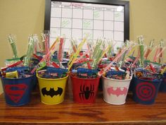 Children's Party Favor Buckets/ Treat Bag with Your by HausOfGirls, $2.75