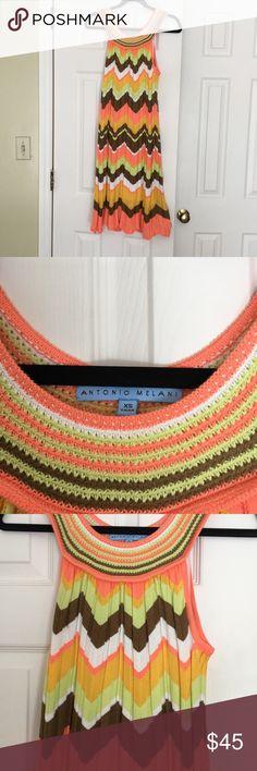 Antonio Melani dress Multi color Chevron print dress ANTONIO MELANI Dresses