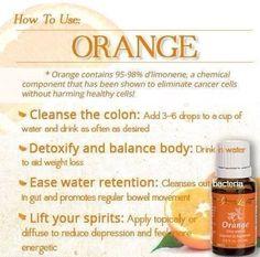 Young living orange oil  http://www.us.ylscents.com/cindyland