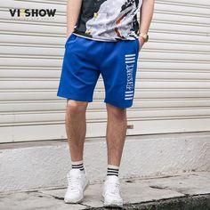FuzWeb:VIISHOW NEW Summer Mens Shorts Casual Short Clothing Boys Shorts Men Knee Length Masculina Beach Shorts KD1292172