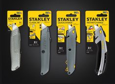 beautiful redesign: Stanley Logo and Packaging