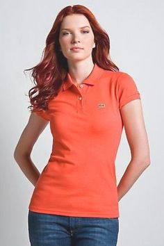 ralph lauren uk outlet Lacoste Women\u0027s Short Sleeve 2 Button Stretch Pique Polo  Shirt Guava Orange http://www.poloshirtoutlet.us/