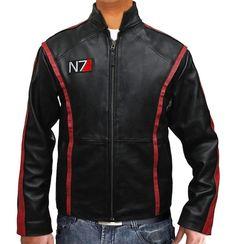 'Mass Effect 3′ Leather Jacket